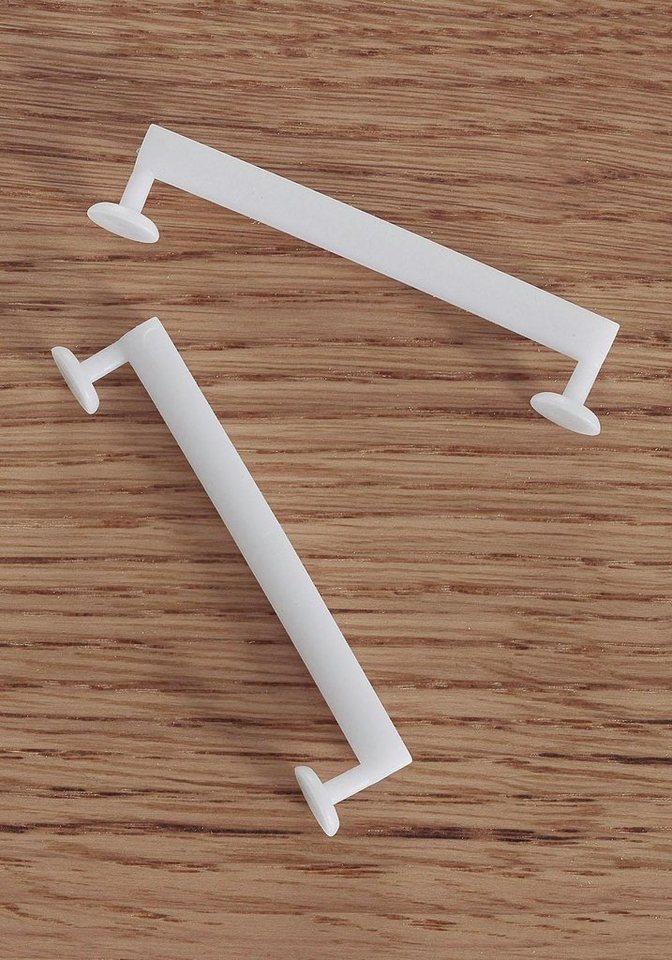 Schlaufengleiter (10 Stck.) in weiß