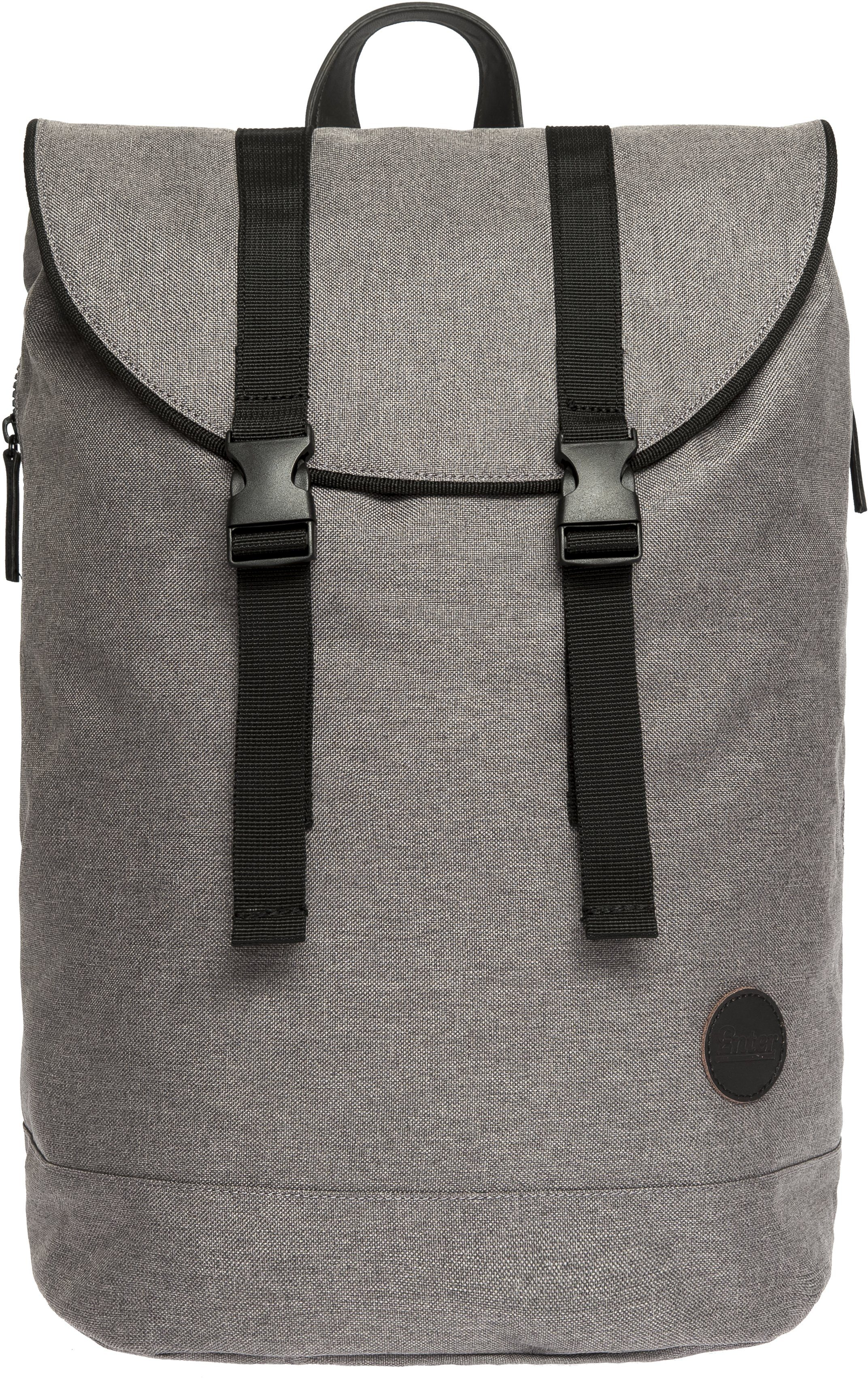 Enter Rucksack mit Kordelzug, »Day Hiker Backpack, Melange Grey«