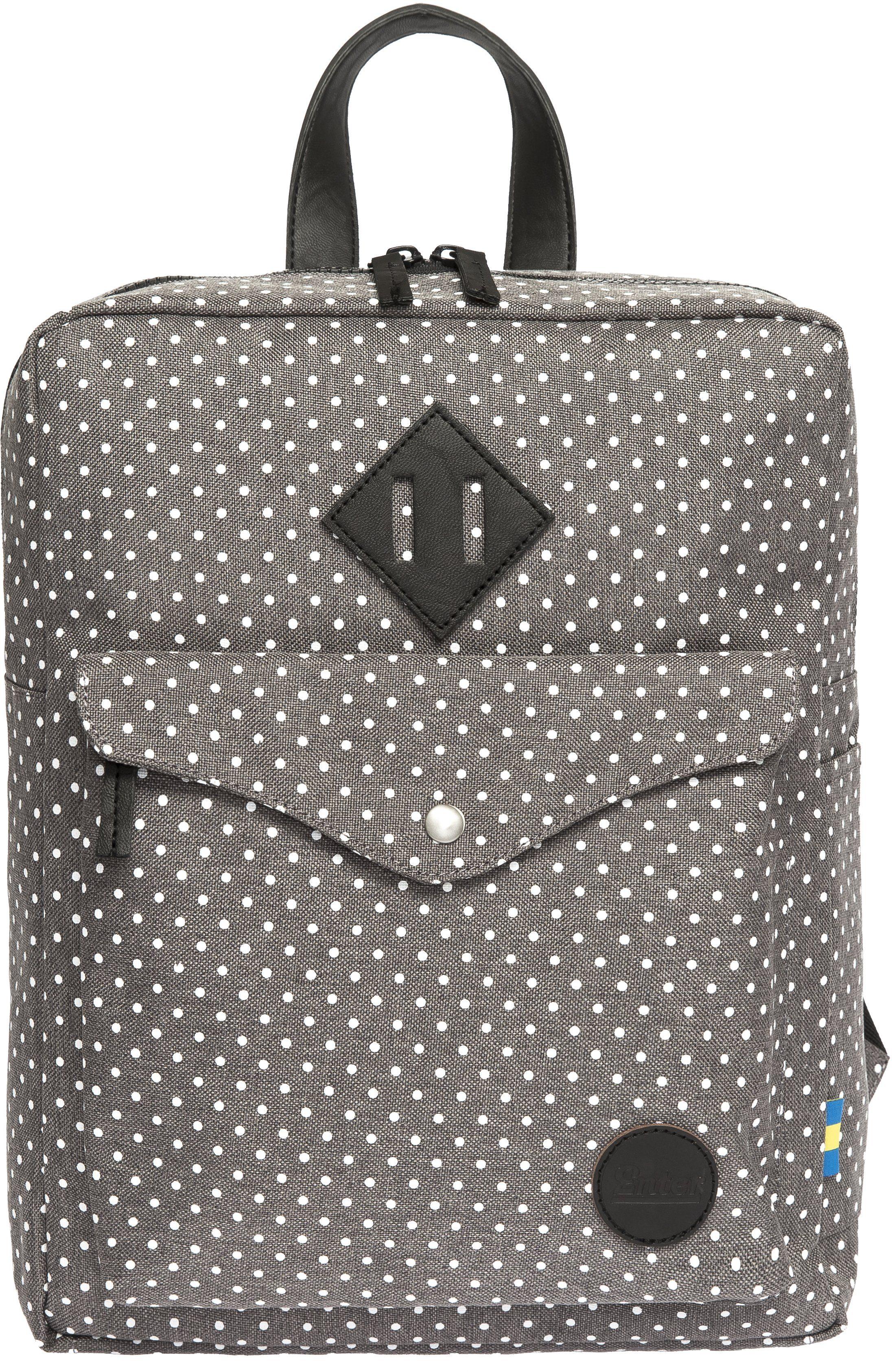 Enter Rucksack, »Sports Backpack Mini, Melange Grey/White Polkadot«