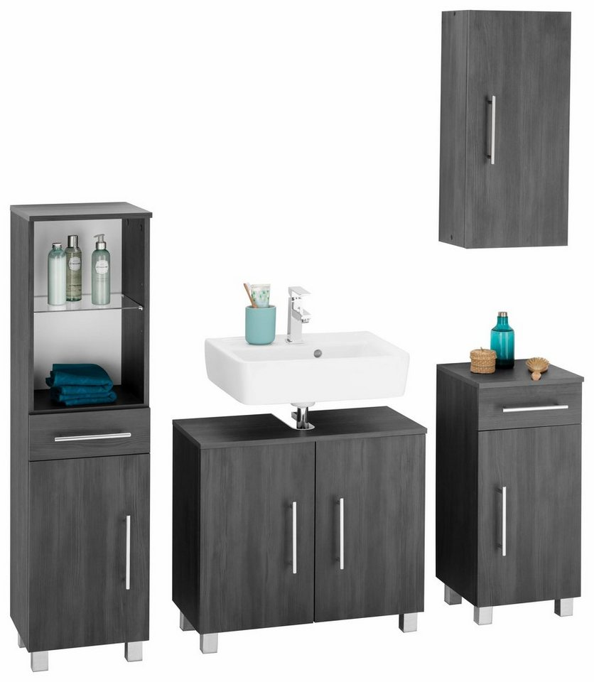 kesper badm bel set mainz 4 tlg online kaufen otto. Black Bedroom Furniture Sets. Home Design Ideas