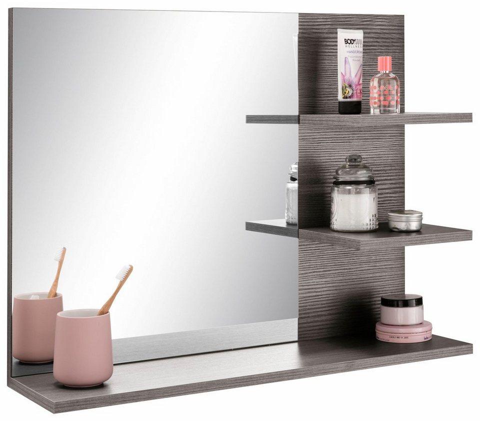 Badezimmerspiegel Ablage.Trendteam Badspiegel Miami Masse B T H 72 17 57 Cm Online Kaufen Otto