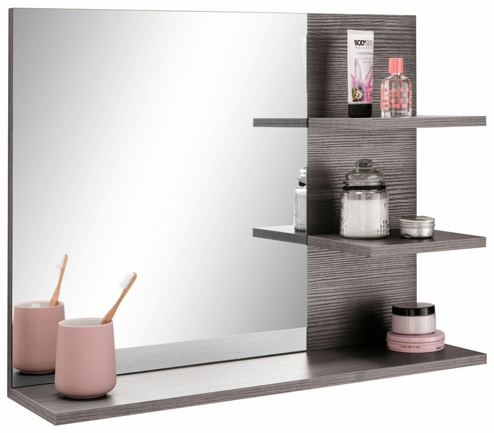 Spiegel mit beleuchtung und ablage  trendteam Spiegel »Miami« mit Ablage online kaufen | OTTO