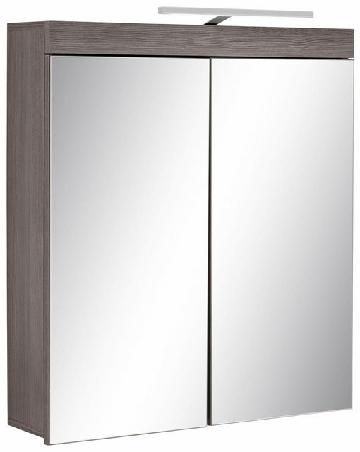 Spiegel - trendteam Spiegelschrank »Miami« mit LED Beleuchtung und Steckdose, Breite 72 cm  - Onlineshop OTTO