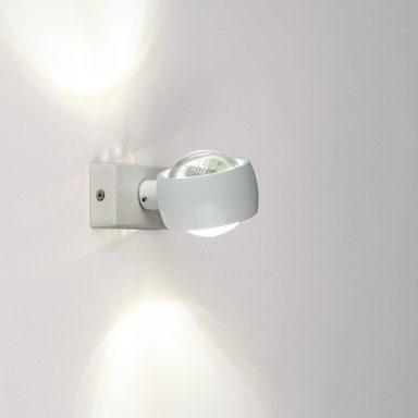 s luce wandleuchte beam up down mit glaslinsen weiss online kaufen otto. Black Bedroom Furniture Sets. Home Design Ideas