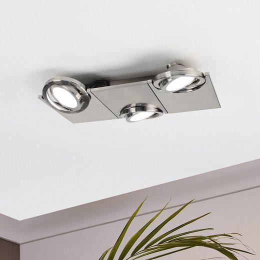 Licht-Trend Deckenleuchte »Pitch 3 LED Reflektor 3 x 480 lm«