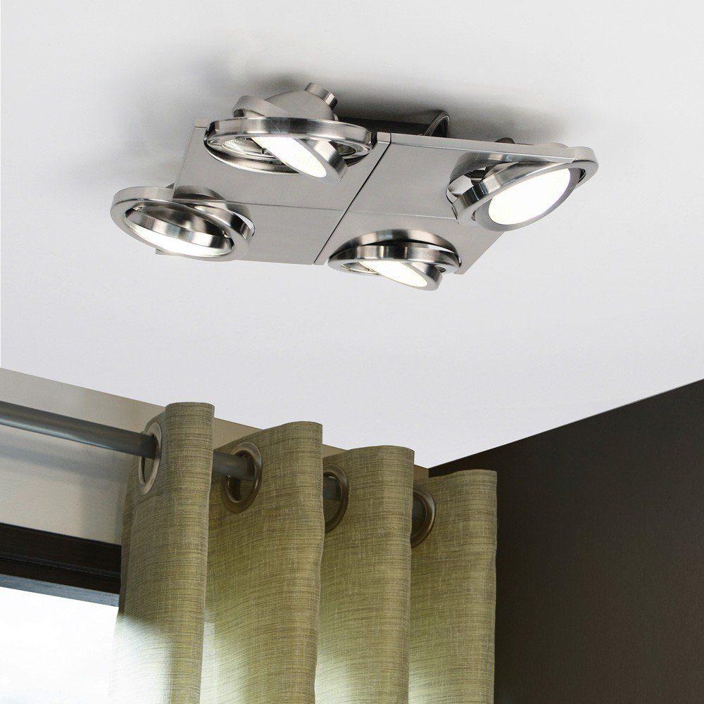 Licht-Trend Deckenleuchte »Pitch 4 LED Reflektor 4 x 480 lm«