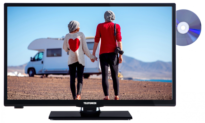 Telefunken LED-Fernseher (24 Zoll, HD-Ready, DVB-T2 HD, DVD) »XH24A101VD«