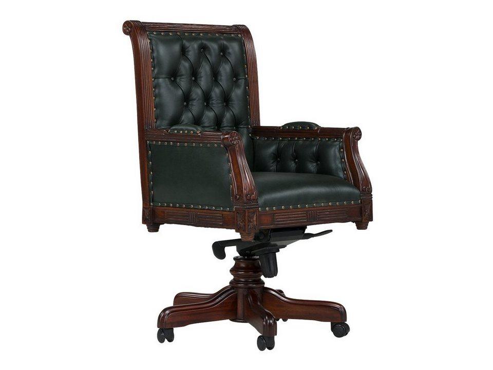 Massivum Stuhl Aus Echtleder Cambridge Kaufen