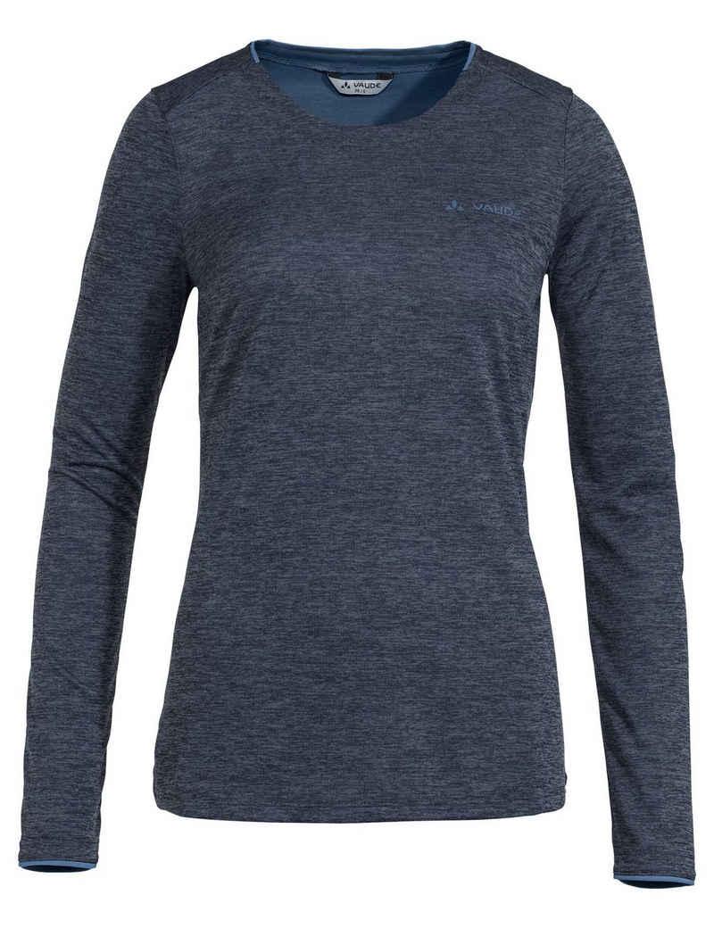 VAUDE T-Shirt »Women's Essential LS T-Shirt« (1-tlg) Grüner Knopf