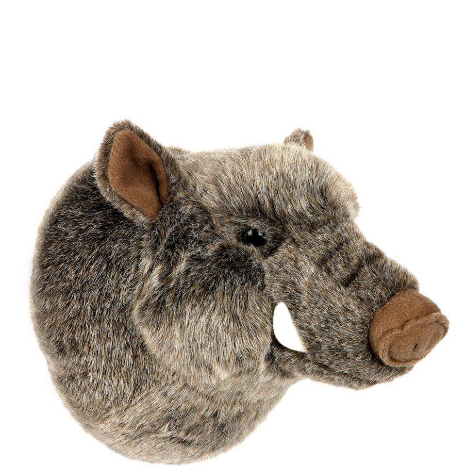 BUTLERS HALALI »Wildschweinkopf klein« in Grau