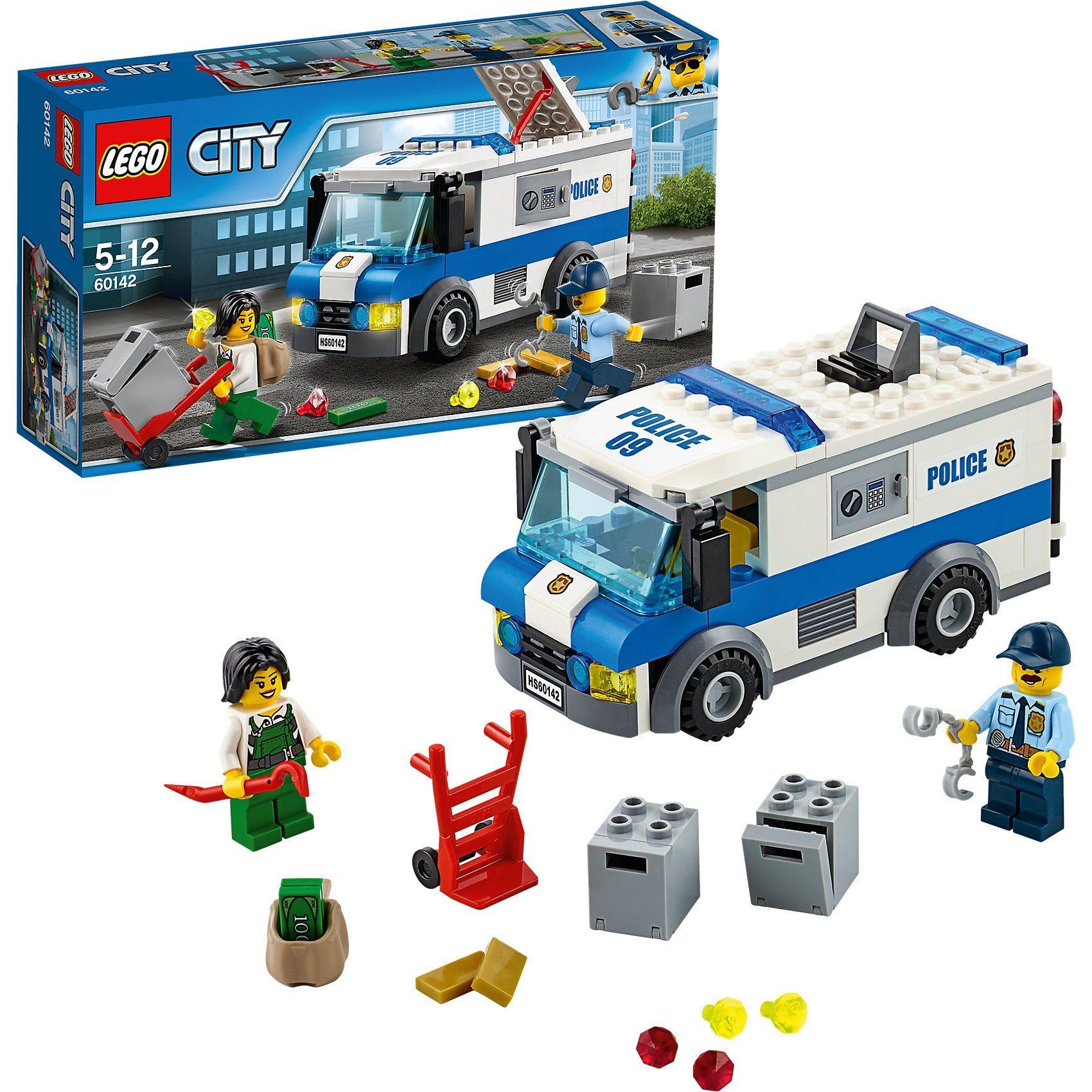 LEGO 60142 City: Geldtransporter