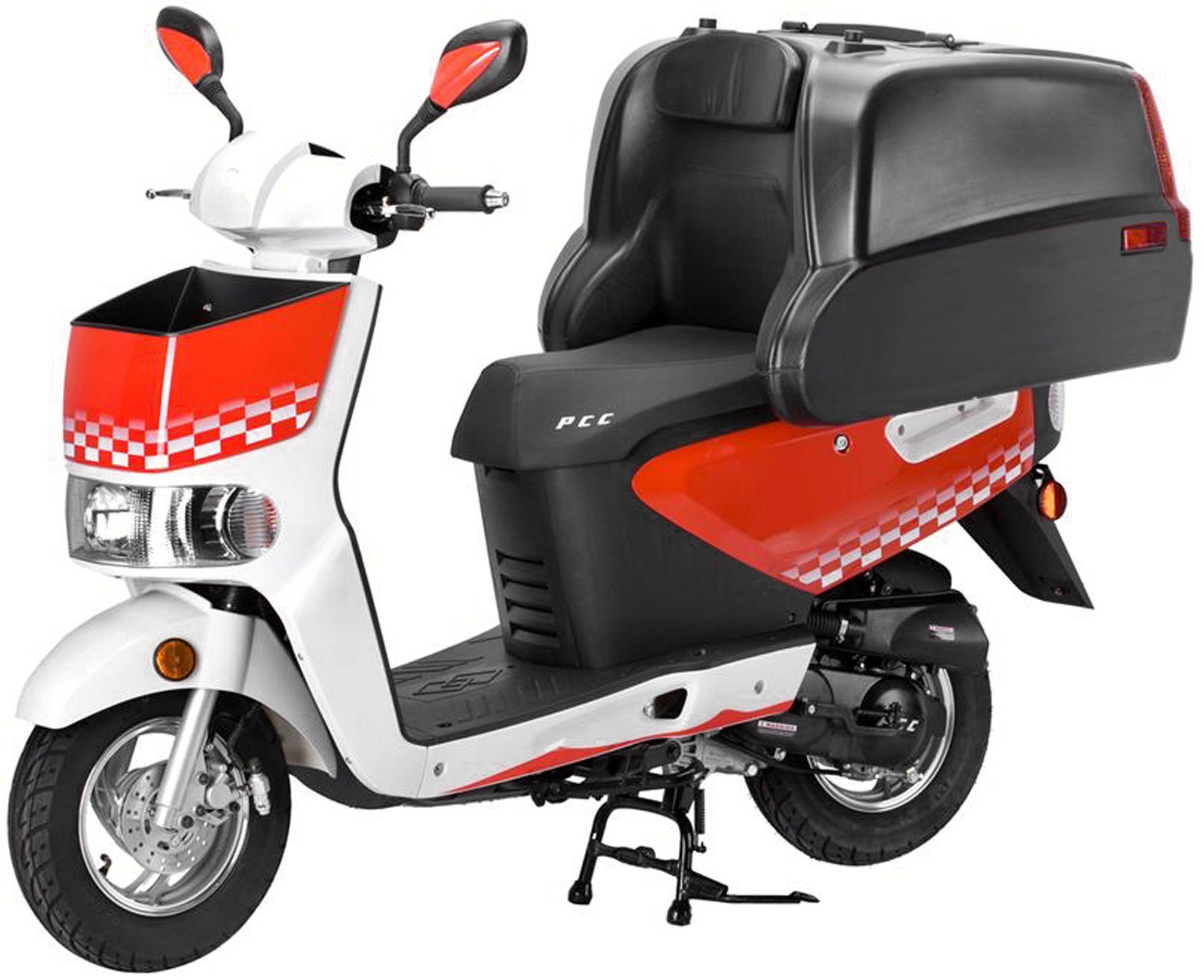 Luxxon Motorroller »Kangaroo«, 50 ccm, 45 km/h, Euro 2, ohne Transportbox, 50 ccm, 45 km/h