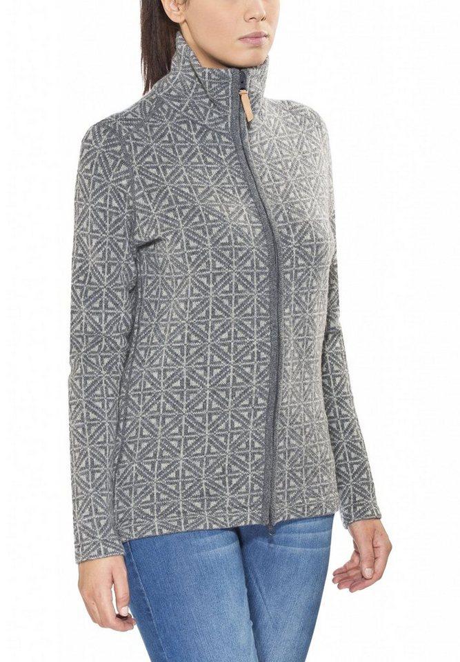 FJÄLLRÄVEN Pullover »Övik Frost Cardigan Women« in grau