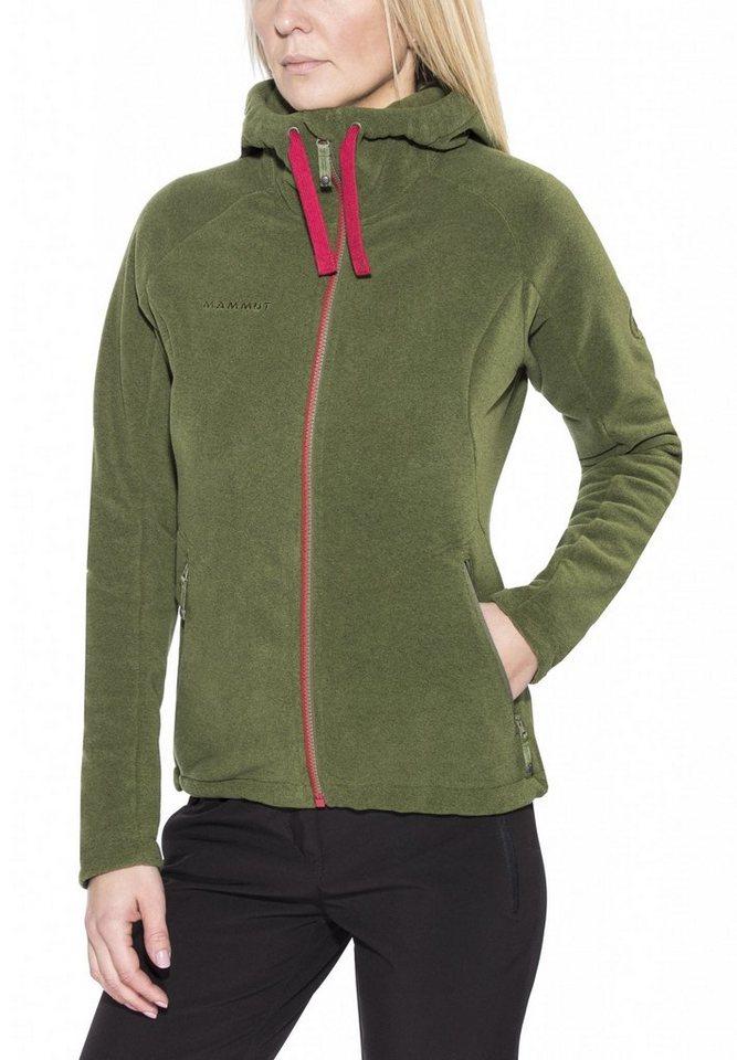 Mammut Outdoorjacke »Yampa Advanced ML Hooded Jacket Women« in grün