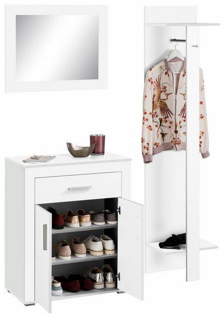 Garderoben Sets - Garderoben Set »Lake«, (Set, 3 tlg), mit Stauraum für ca. 15 Paar Schuhe  - Onlineshop OTTO