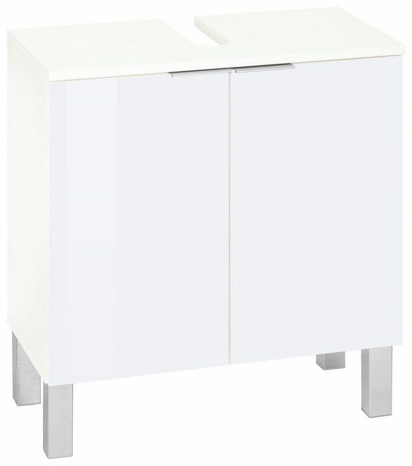 Waschbeckenunterschrank »Tessin«, Kesper in weiß-weiß