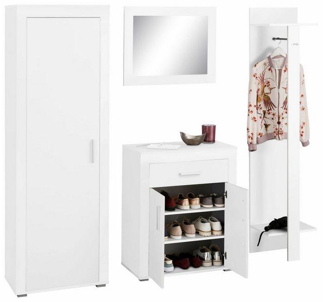 Garderoben Sets - Garderoben Set »Lake«, (Set, 4 tlg), mit Rahmenoptik  - Onlineshop OTTO