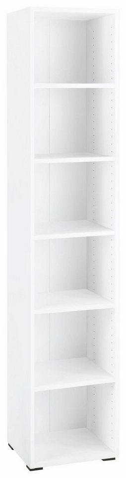 CS Schmalmöbel Regal »Koxxi« in weiß