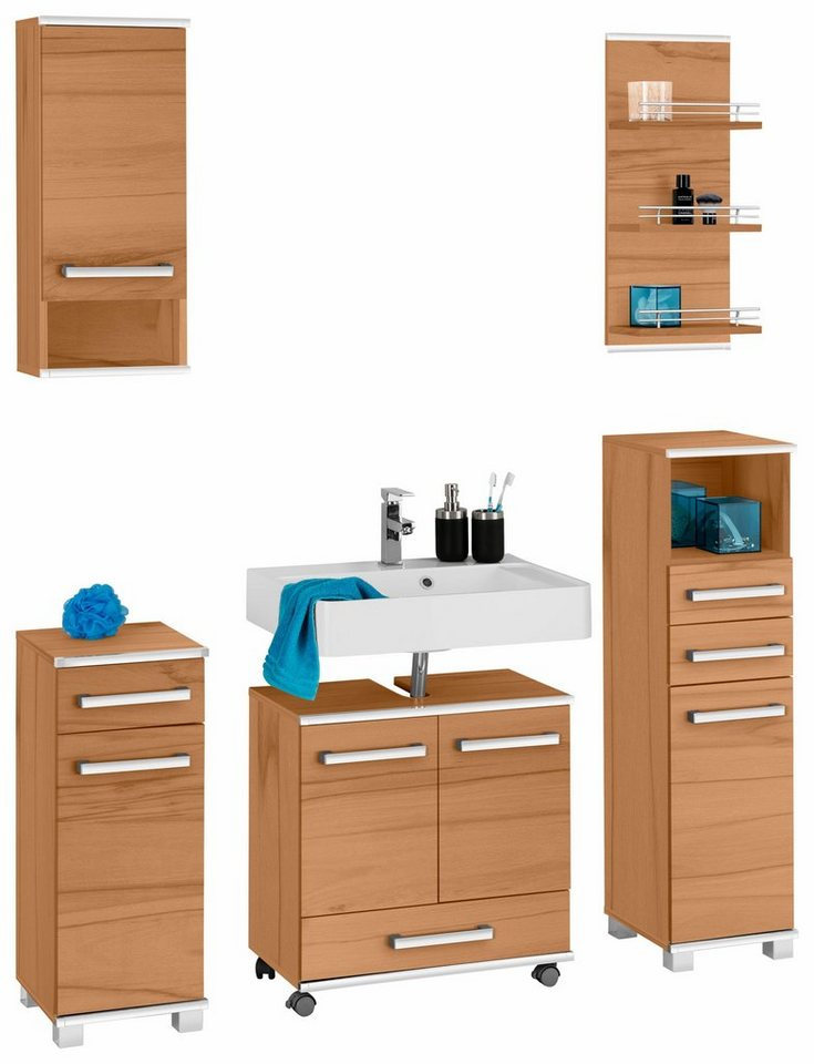 badm bel set schildmeyer living 5 tlg otto. Black Bedroom Furniture Sets. Home Design Ideas