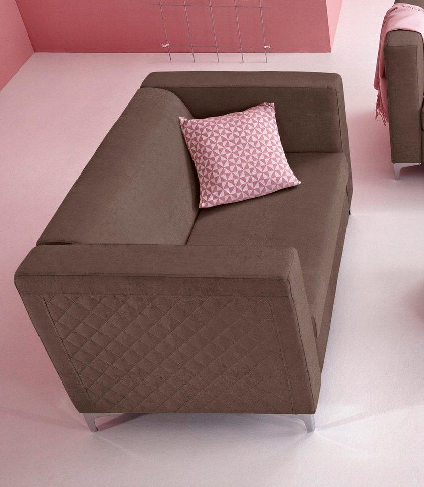 inosign 2 sitzer mit steppung online kaufen otto. Black Bedroom Furniture Sets. Home Design Ideas