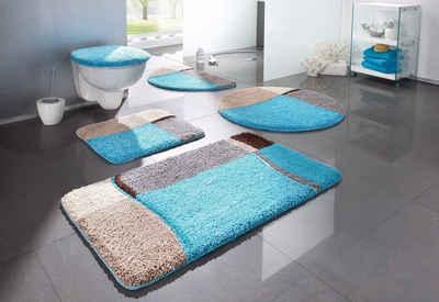 Badematte »Belio« my home, Höhe 20 mm, fußbodenheizungsgeeignet