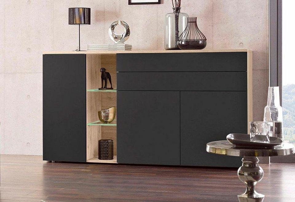 inosign sideboard breite 178 cm mit oder ohne beleuchtung online kaufen otto. Black Bedroom Furniture Sets. Home Design Ideas