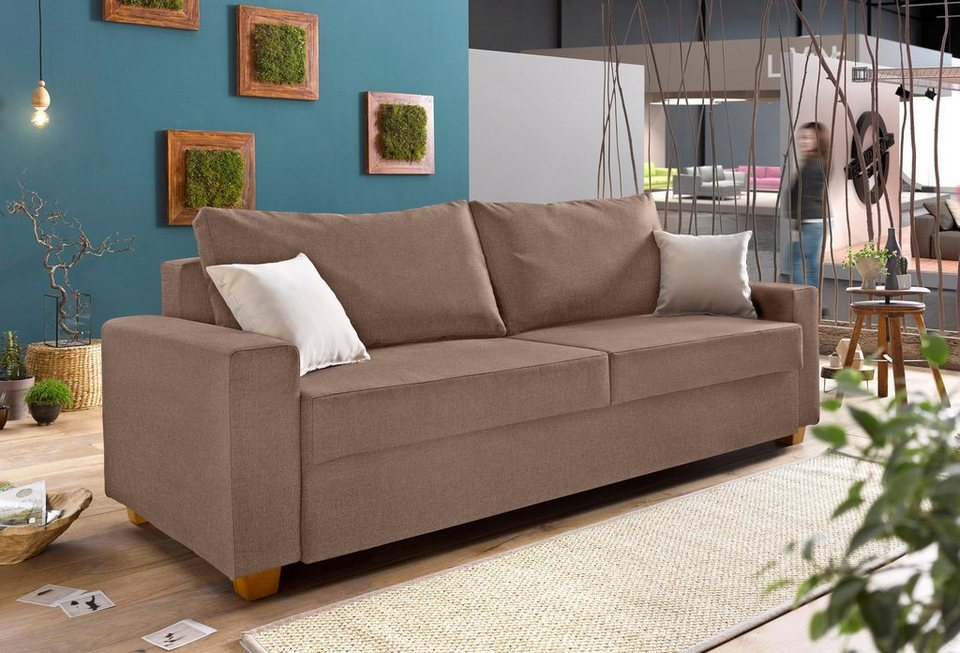 otto schlafsofa federkern inosign schlafsofa inklusive bettkasten und zierkissen with otto. Black Bedroom Furniture Sets. Home Design Ideas