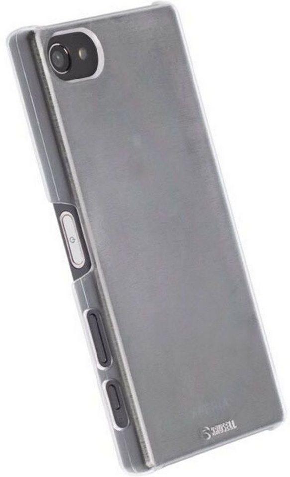 Krusell Handytasche »HardCover Boden für Sony Xperia XA« in Weiß-Transparent