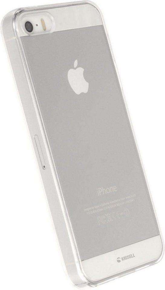 Krusell Handytasche »HardCover Kivik für Apple iPhone SE« in Transparent