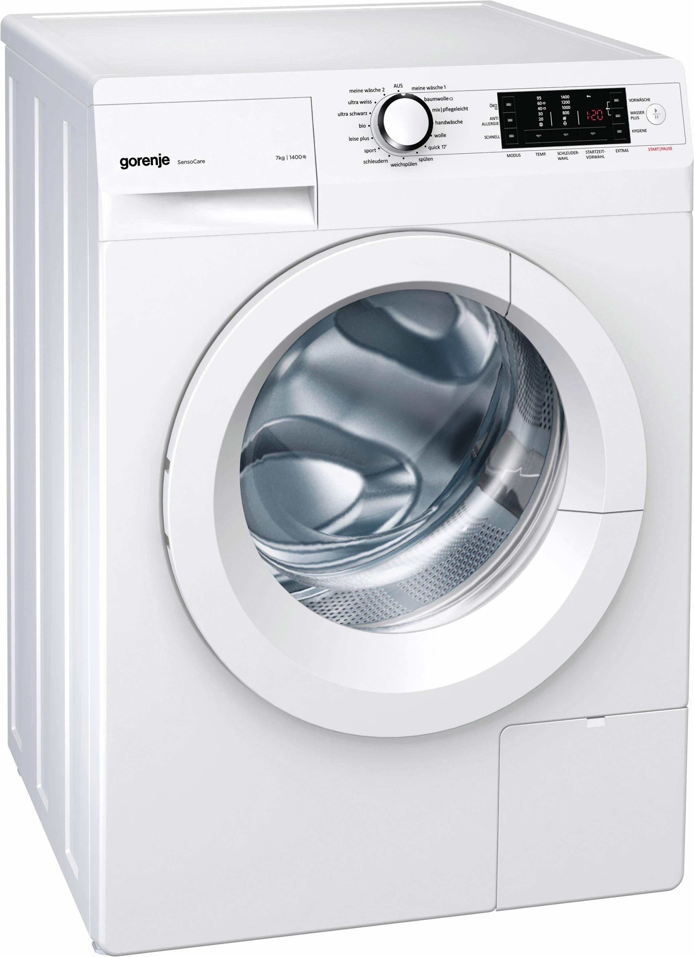GORENJE Waschmaschine WAS749, 7 kg, 1400 U/Min