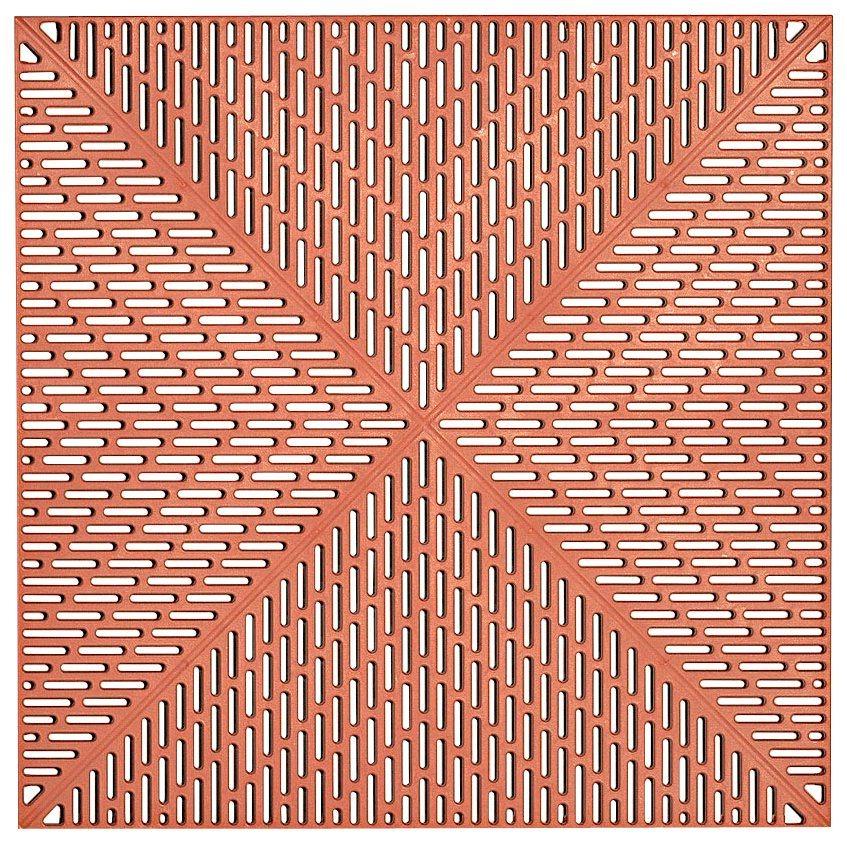 Bodenplatten Set Kunststofffliese Unique Terra Otto
