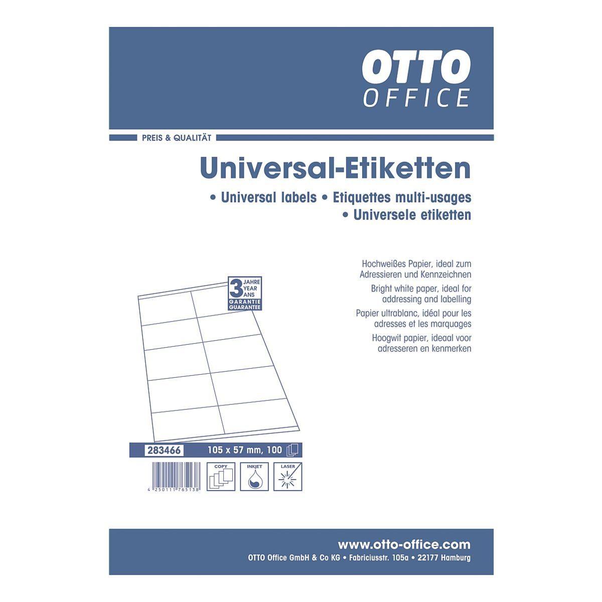 OTTO Office Standard 1000er-Set Universal-Klebeetiketten