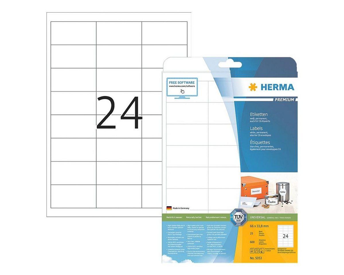 HERMA 600er-Set Universal-Klebeetiketten »5053«