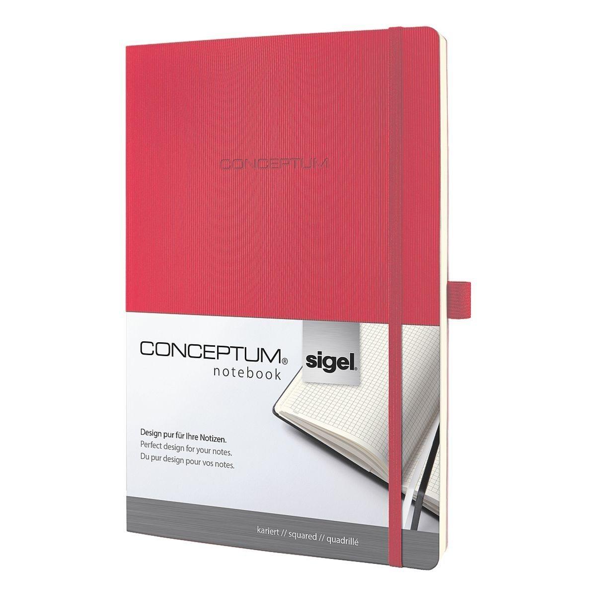 Notizbuch A4 kariert »Conceptum«