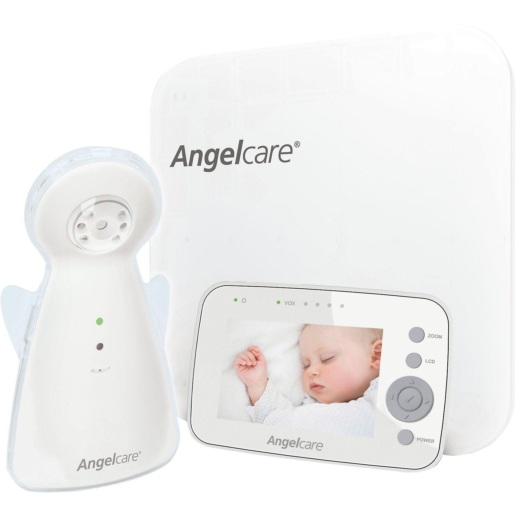Angelcare Geräusch- und Bewegungsmelder mit Video-Überwachung AC1300-D