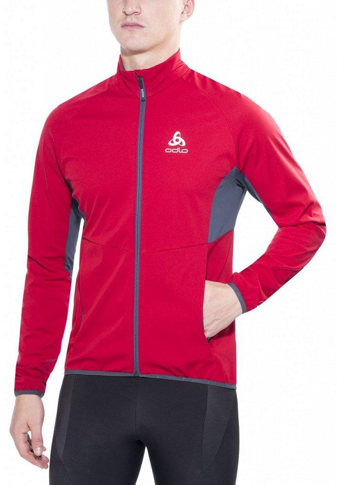 Odlo Trainingsjacke »Stryn Softshell Jacket Men« in rot