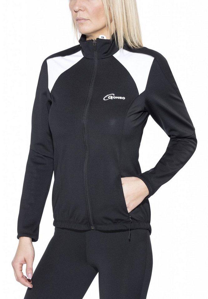 Gonso Radjacke »Lussari V2 Thermo Active Jacke Damen« in schwarz