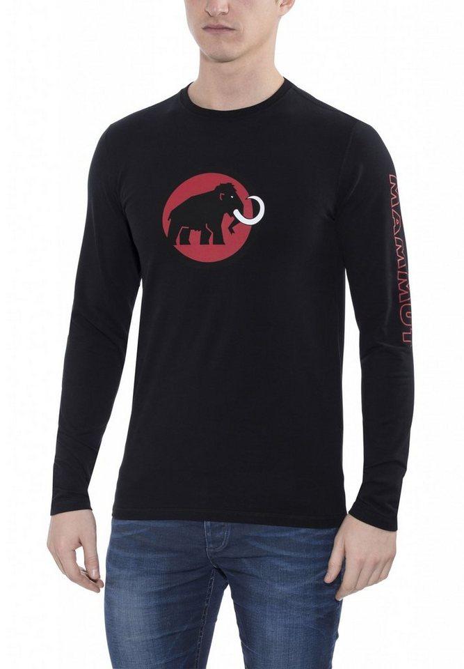 Mammut Sweatshirt »Snow Longsleeve Shirt Men« in schwarz