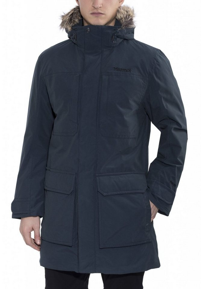 Marmot Outdoorjacke »Longwood Jacket Men« in blau