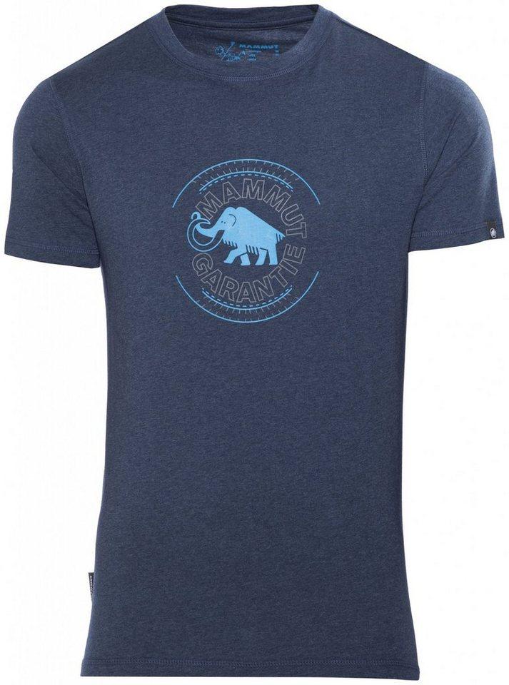 Mammut T-Shirt »Garantie T-Shirts Men« in blau
