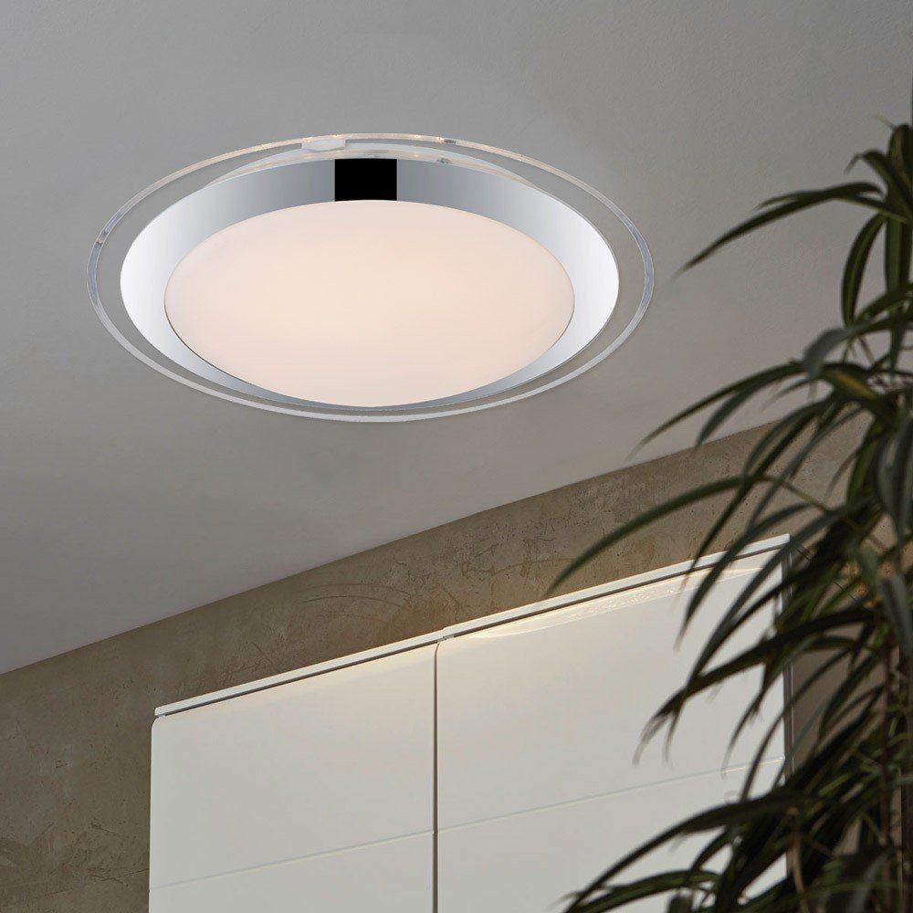 Licht-Trend Deckenleuchte »Quadras LED-Deckenleuchte mit Acrylrand / Ø 32 cm«