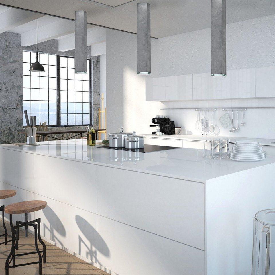 licht trend deckenleuchte arch l aufbau deckenleuchte 61 x 6 cm beton online kaufen otto. Black Bedroom Furniture Sets. Home Design Ideas