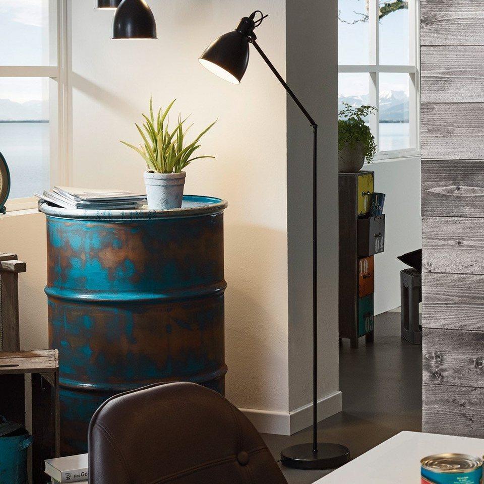 licht trend stehleuchte bonny vintage stehleuchte 137 cm schwarz online kaufen otto. Black Bedroom Furniture Sets. Home Design Ideas