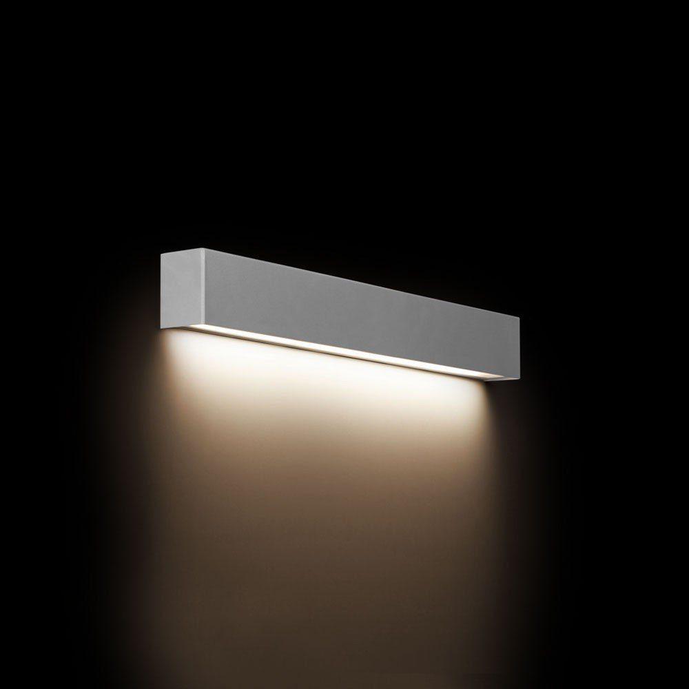 Licht-Trend Wandleuchte »Wall S edle LED Spiegelleuchte Silber«