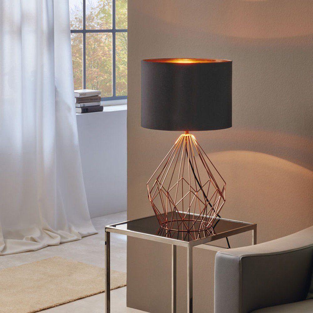Licht-Trend Tischleuchte »Bosco im Vintage-Look Kupfer & Schwarz«
