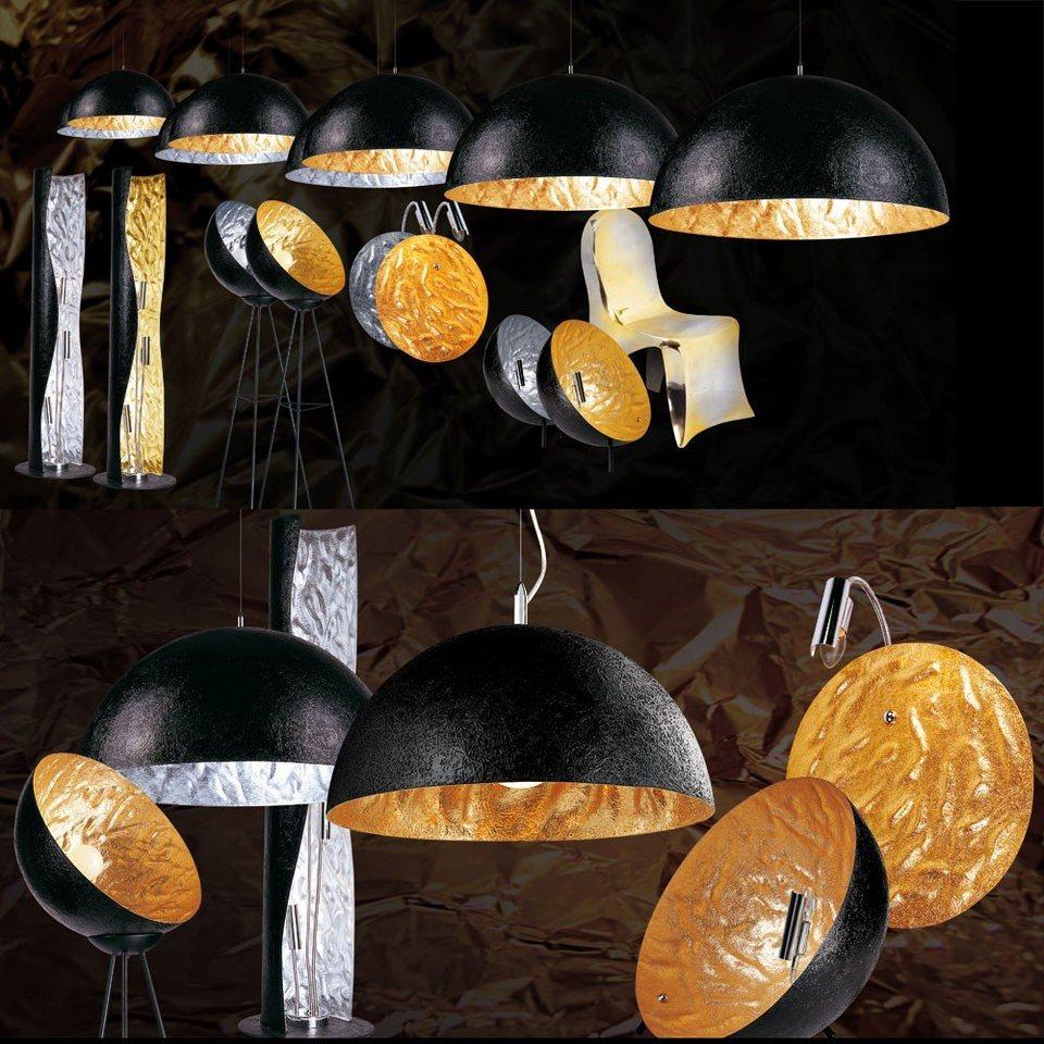 s luce stehleuchte blister 3 flammig 130cm schwarz goldfarben online kaufen otto. Black Bedroom Furniture Sets. Home Design Ideas