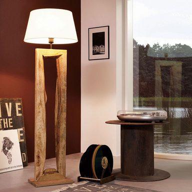 licht trend stehleuchte timber mit holzfu h126cm braun online kaufen otto. Black Bedroom Furniture Sets. Home Design Ideas