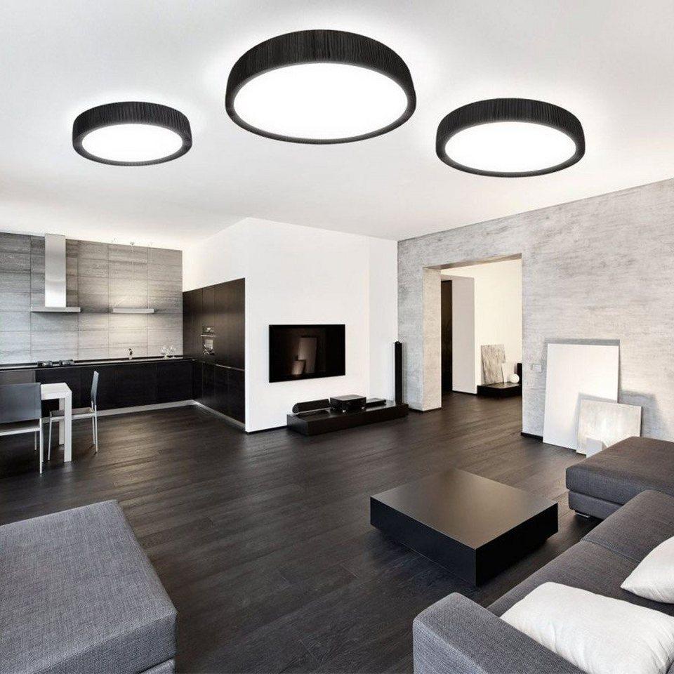 Licht-Trend Deckenleuchte »Handro LED Ø 100cm Schwarz