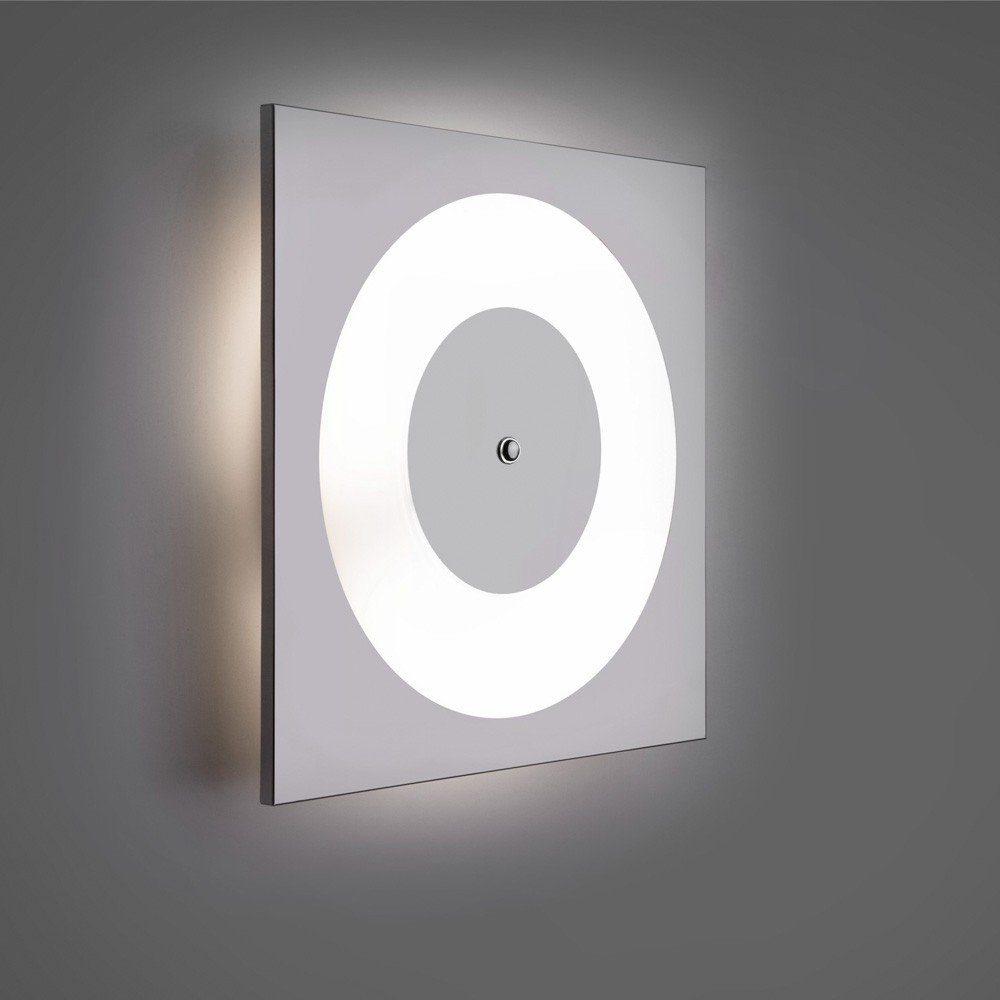 Licht-Trend Deckenleuchte »Disk modern Chrom«