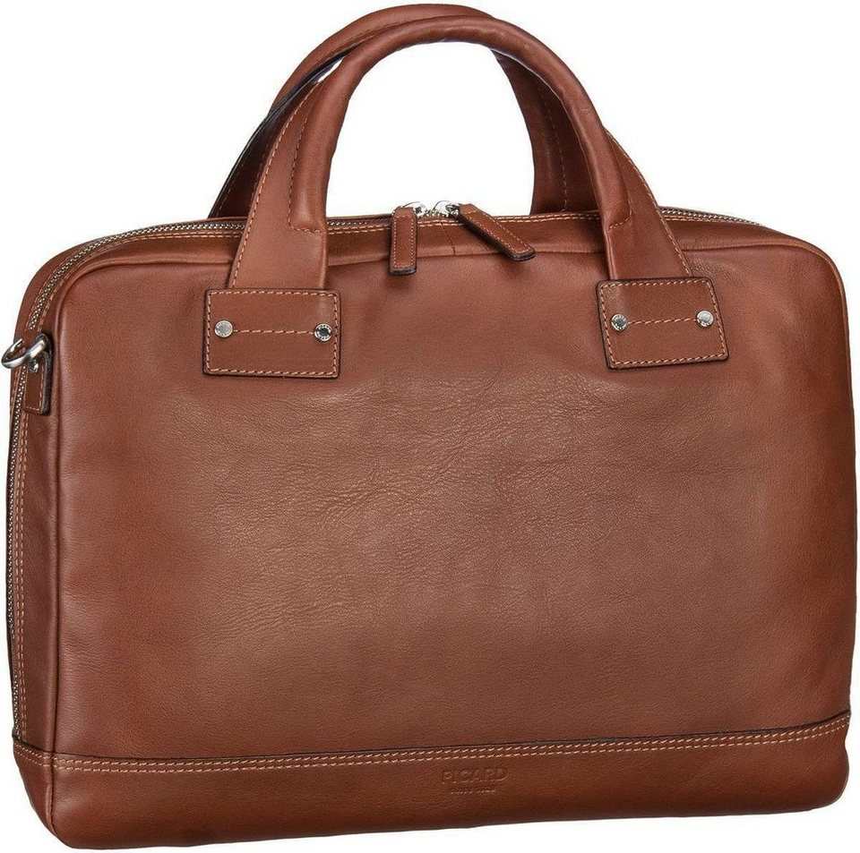 Picard Do It Business Bag in Cognac